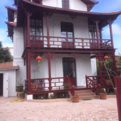 dallage extérieur villa royan