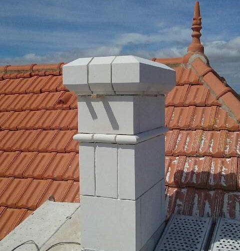 rénovation et embellissement conduit de cheminée