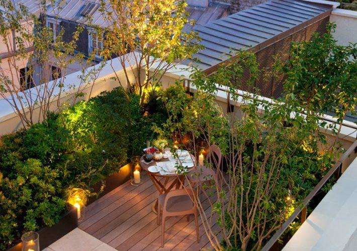 aménagement toit terrasse rochefort